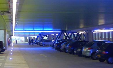3 niveaux de stationnement réservés aux usagers du réseau Stan à Brabois © BoDiAbLe