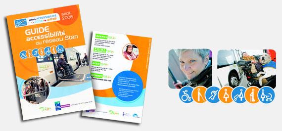 Le nouveau guide Accessibilité du réseau Stan © Stan/Grand Nancy