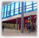 Les Halles trains et trams, encore bien vides..© ToBoZZ