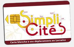 SimpliCités, carte à l'échelle régionale © CR Lorraine