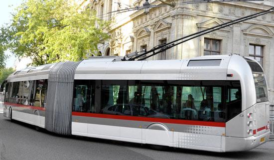 Trolleybus Cristalis à Lyon © Ambrosiana Pictures